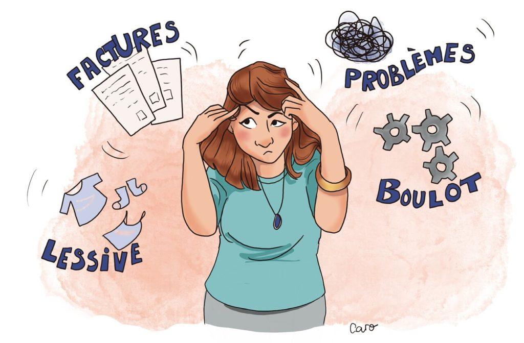 Les pensées envahissantes Sophrologie Vincennes Paris