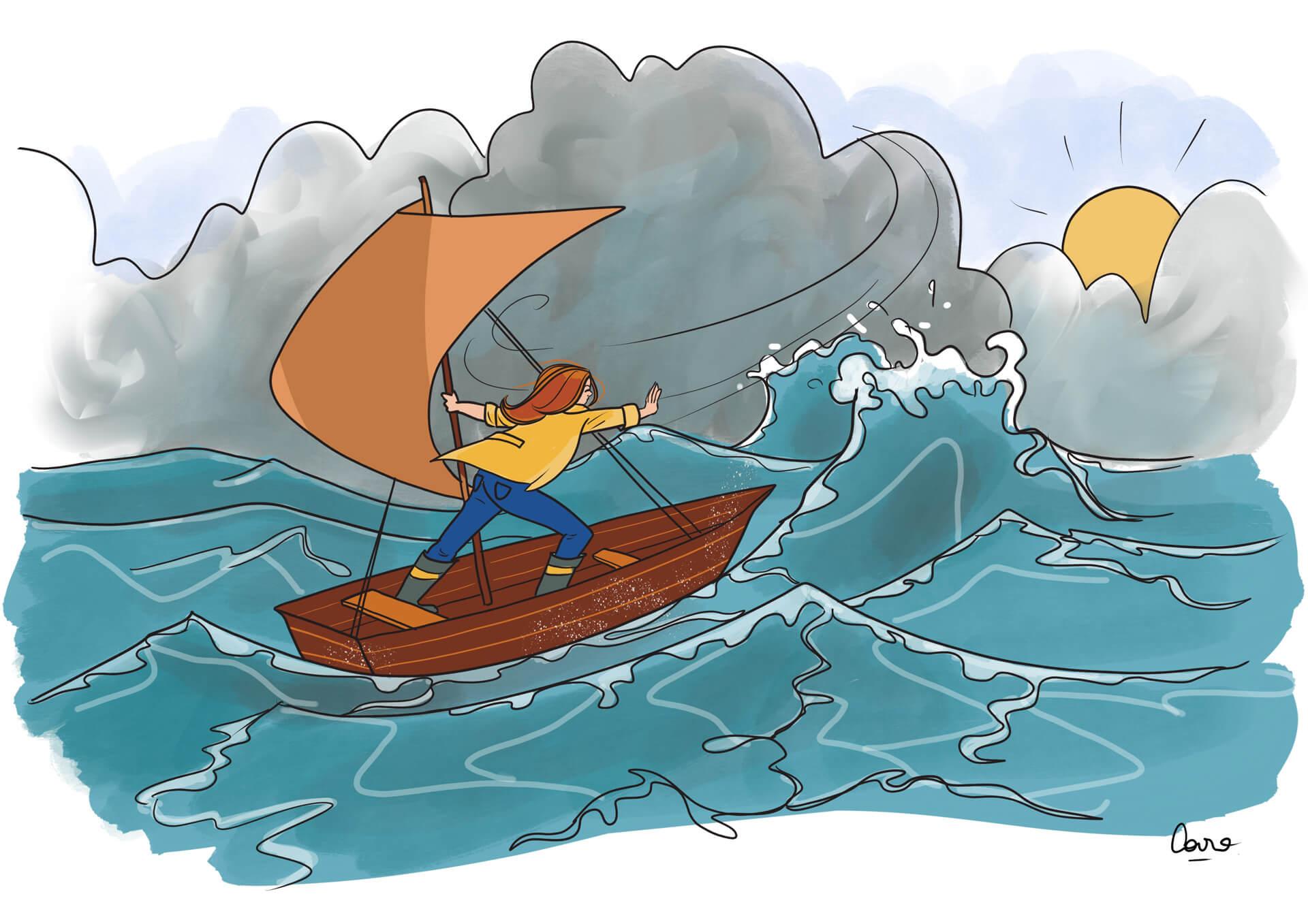 Traverser les tempêtes 3 – Profiter du beau temps